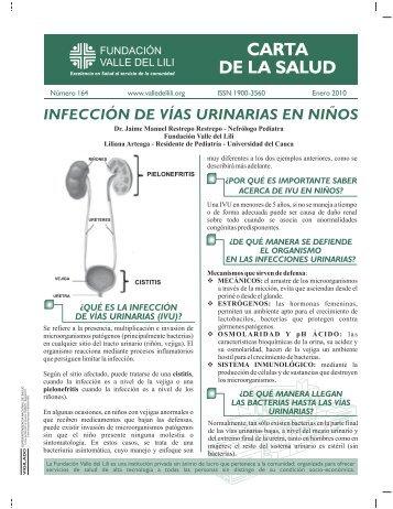 INFECCIÓN DE VÍAS URINARIAS EN NIÑOS - Fundacion Valle del lili
