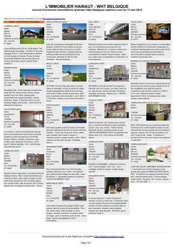 Anuncio inmobiliario en Belgica LOMPRET En alquiler ... - Repimmo