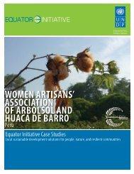 women artisans - The GEF Small Grants Programme - United ...