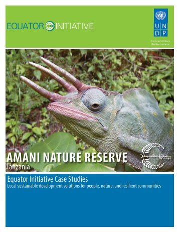 amani nature reserve - The GEF Small Grants Programme - United ...