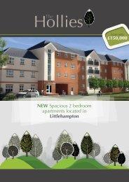 NEW Spacious 2 bedroom apartments located in Littlehampton ...