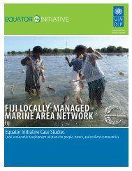 Fiji Locally-Managed Marine Area Network - Convention on ...