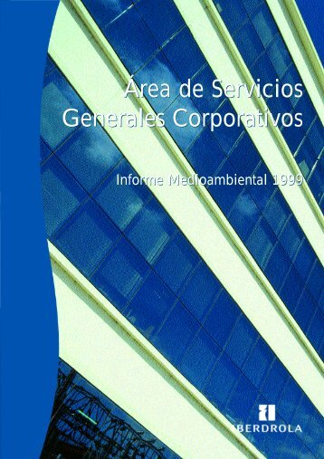 Área de Servicios Generales Corporativos Área de Servicios ...
