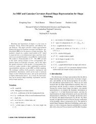 An MRF and Gaussian Curvature Based Shape ... - Tiberio Caetano
