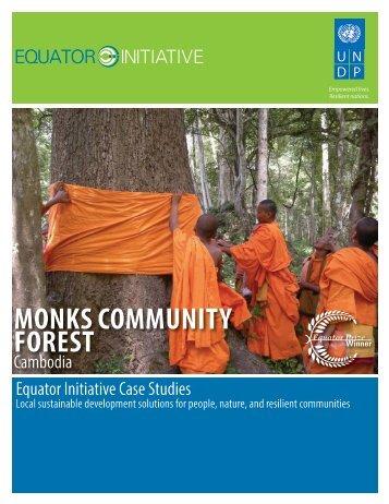 Monks Community Forest, Cambodia - Equator Initiative