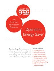 Operation Energy Save - Create The Good