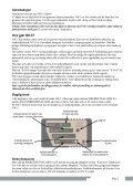 NX-5 Sikkerhetsalarm Bruksanvisning - Page 2