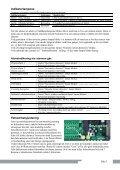 NX-5 Sikkerhetsalarm Bruksanvisning - Page 5