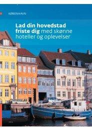 Lad din hovedstad friste dig med skønne hoteller og oplevelser