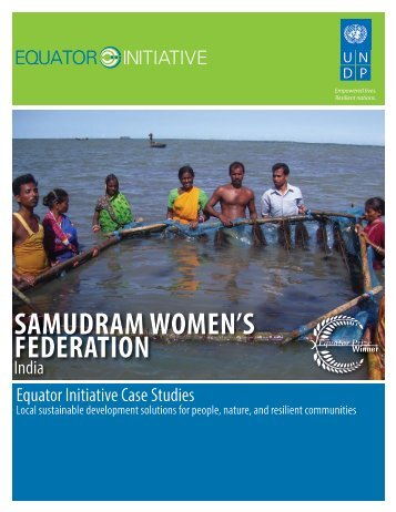 Samudram Women's Federation, India - Equator Initiative