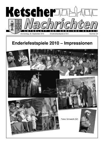 Der Enderle von Ketsch in Sage und Wirklichkeit - Nussbaum Medien