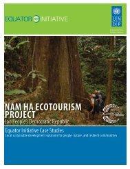 Nam Ha Ecotourism Project, Lao PDR - Equator Initiative