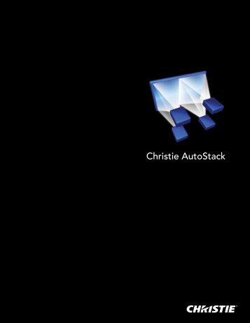 Christie Autostack Datasheet - Christie Digital Systems