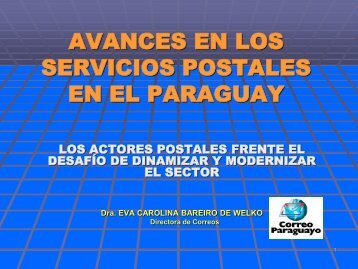 avances en los servicios postales en el paraguay - Triangle