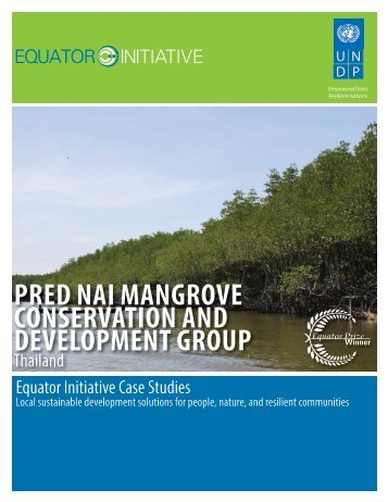 PRED NAI MANGROVE CONSERVATION AND ... - Equator Initiative
