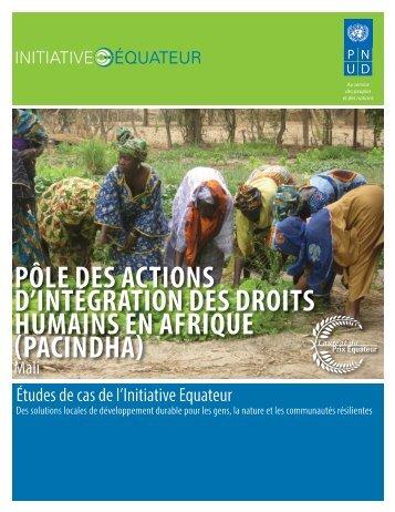 pacindha - Equator Initiative