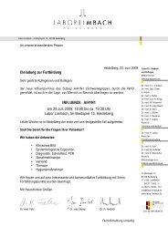 Einladung zur Fortbildung INFLUENZA A/H1N1 am 29.Juli 2009, 18 ...