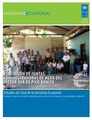 ASOCIACIÓN DE JUNTAS ADMINISTRADORAS ... - Equator Initiative