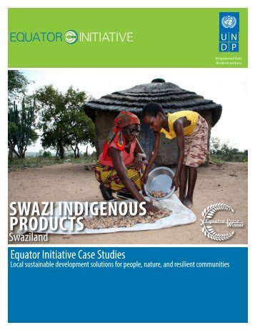 to read more in our detailed case study - Equator Initiative