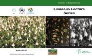 Linnaeus Lecture Series - Convention on Biological Diversity