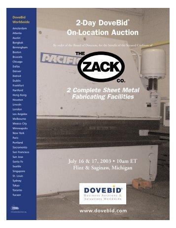 Zack Virtual Brochure