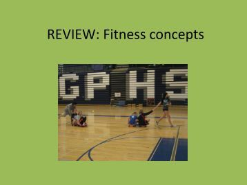 Fitness and Injury Prevention - Glacier Peak High School