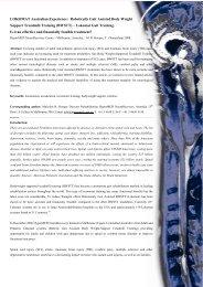 HyperMED - Australian LOKOMAT Experience (Hooper 2008)