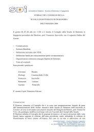 Verbale del 8 maggio 2006 (pdf) - Scuola di Dottorato in Ingegneria