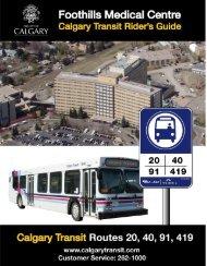 Foothills Medical Centre - Calgary Transit