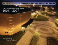 The University's Annual Report - Ccsu - Central Connecticut State ...