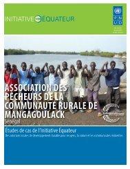 association des pêcheurs de la communauté ... - Equator Initiative