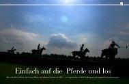 Die schnellsten Pferde, die besten Plätze, die stärksten Spieler der ...