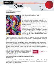 Red Sky Reel Blog - 6 October 2008