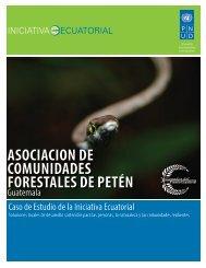 ASOCIACION DE COMUNIDADES ... - Equator Initiative