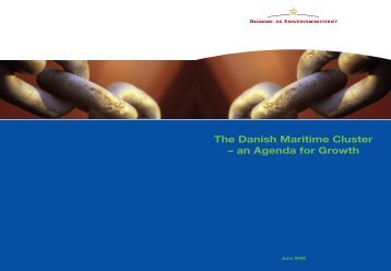 The Danish Maritime Cluster – an Agenda for Growth