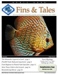 April 2009 - Kitchener Waterloo Aquarium Society
