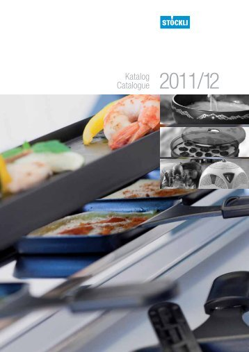 Katalog Catalogue 2011/12 - J. Stöckli AG