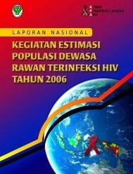 kegiatan estimasi populasi dewasa rawan terinfeksi hiv tahun 2006