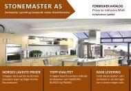 KATALOG MED PRISER - NY 15.JULI 2012 - StoneMaster AS