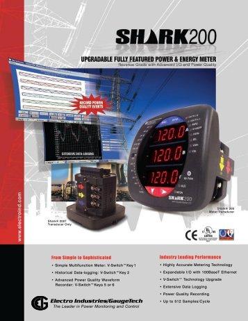 Shark 200 - Imbema Controls