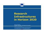 Research Infrastructures i H i 2020 in Horizon 2020 - IS-ENES