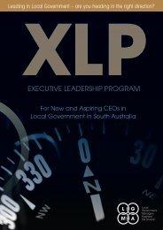 The 2011 LGMA (SA) Executive Leadership Program