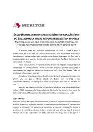 silvio barros,diretor geral da meritor para américa do sul,acumula ...