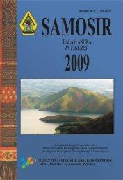 Samosir Dalam Angka 2009 - Pemerintah Kabupaten Samosir