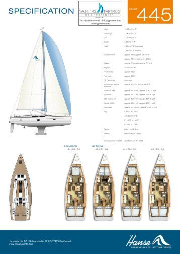 h445 2014 specs - Yachting Partners