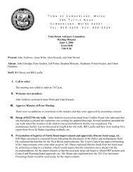 Twin Brook Advisory Committee Meeting Minutes June 1, 2006 ...