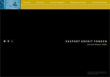 Annual Report 2006 - EKF