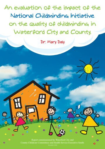 An evaluation of the impact of the National Childminding Initiative on ...