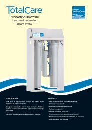TotalCare Guaranteed Water Treatment System for Combis and ...