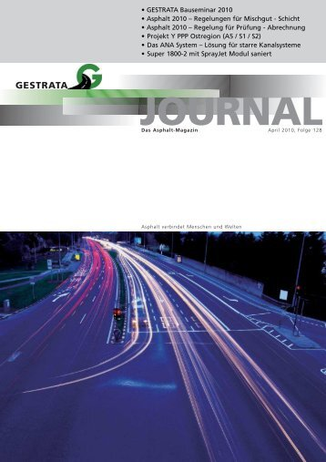 Gestrata Journal Ausgabe 128 (April 2010)